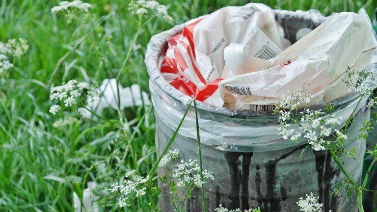garbage can, waste, waste bins
